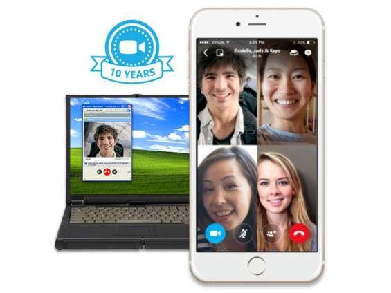 Skype videochiamate di gruppo