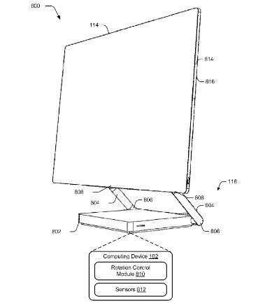 Immagine brevetto Microsoft