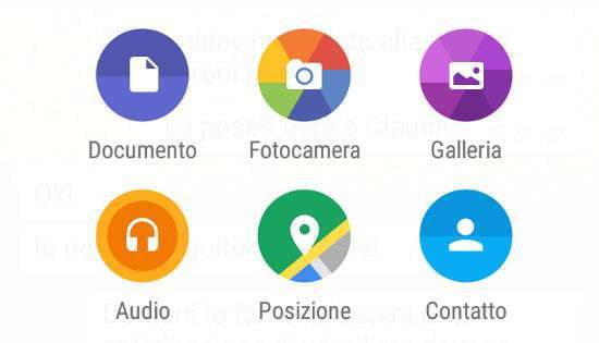 WhatsApp condivisione documenti