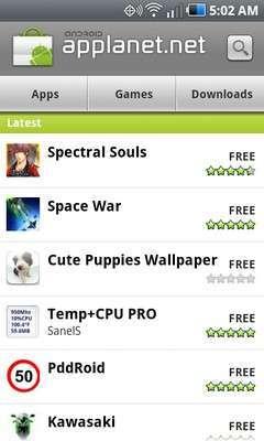 L'app di applanet