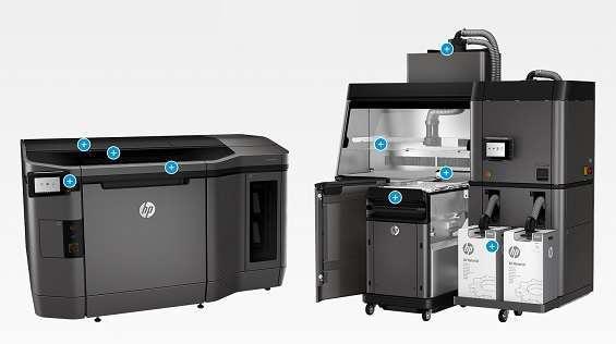 Nuove stampanti 3D Jet Fusion di HP