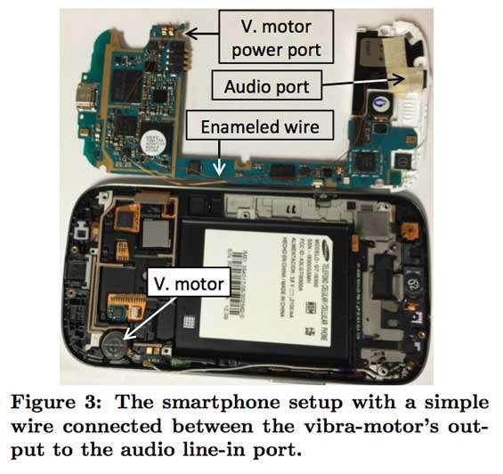 Ecco dove intervenire per modificare il motore della vibrazione del telefono