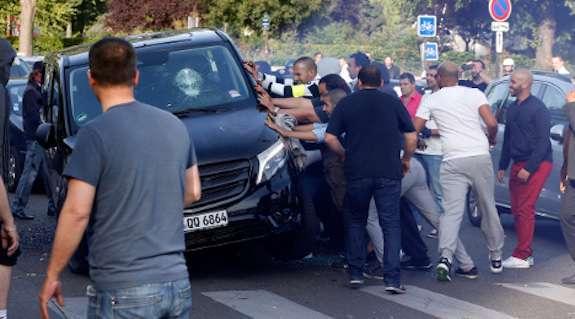 proteste in francia contro vetture uber