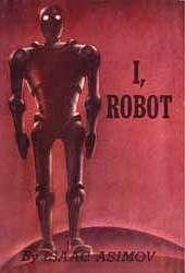 I, Robot, copertina della prima edizione del 1950