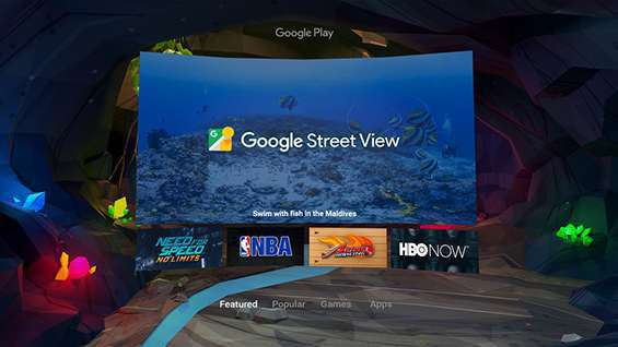 Google Street View in ambiente VR