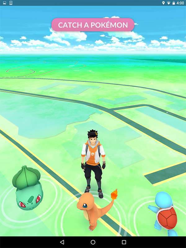 Pokémon Go (screenshot)