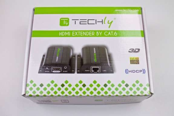 Techly Extender HDMI Full HD 3D IR