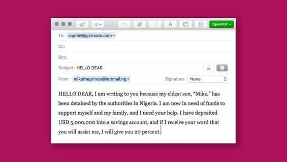 frodi nigeriane