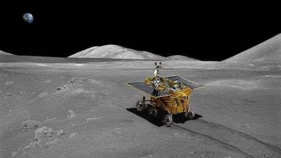Rover lander Yutu