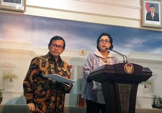 Presidente e Ministro delle Finanze dell'Indonesia