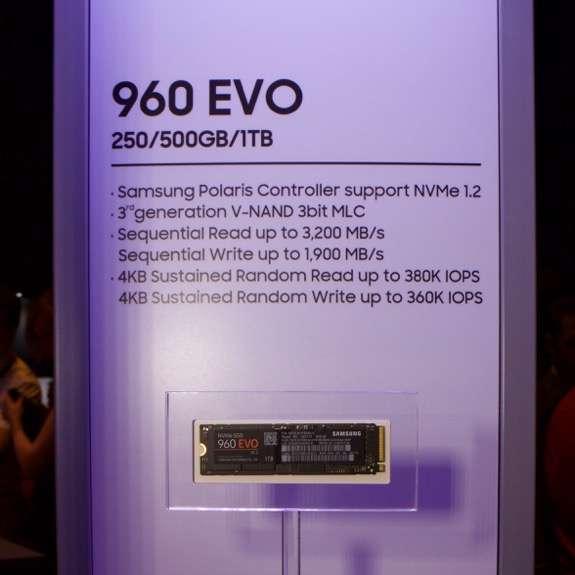 samsung ssd 960 pro e 960 evo