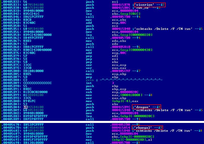 BadRabbit, nomi dei draghi de Il Trono di Spade