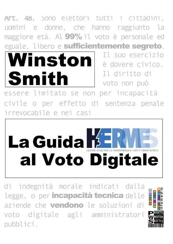 La Guida Hermes Al Voto Digitale - Clicca qui per scaricare il libro completo