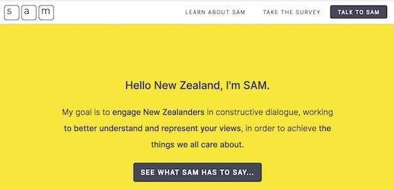 homepage di sam