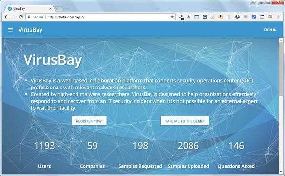 VirusBay, la community per condividere e discutere malware